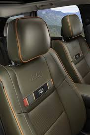 jeep grand cherokee interior seating jeep announces 70th anniversary edition models at detroit motor show