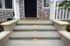 concrete entryway remodel u0026 landscape lighting installation