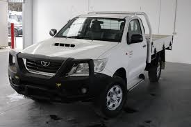toyota hilux dual cab chassis 4x4 for sale graysonline