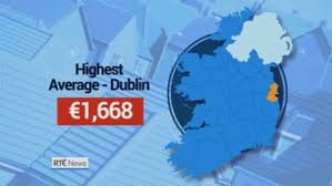 average cost of rent country u0027s average rent rises by u20ac134 a month and is now at an