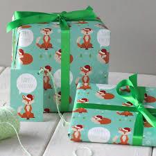 owl christmas wrapping paper amazoncom christmas owl jumbo roll gift wrap paper christmas
