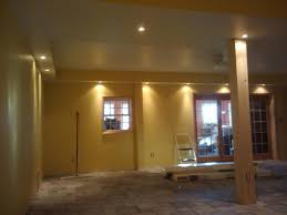 Recessed Lighting For Drop Ceiling by Gentry U0026 39 S Home Improvements Basement Conversion