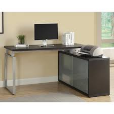 Glass Computer Desk L Shaped Glass Computer Desk Desk Design