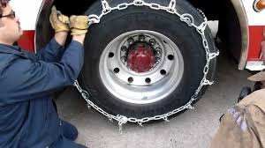best light truck tire chains tirechain com truck with cam tire chains installation youtube
