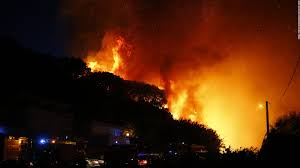 Wildfire Shot Drink by Wildfires Rage In Southern France Cnn Video