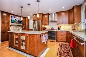 modern country kitchen with oak cabinets modern country kitchen 1 total living concepts