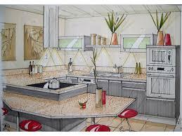 cuisine en perspective book en ligne architecte d intérieur perspective d une cuisine