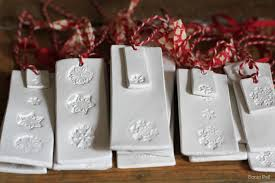diy clay or salt dough ornaments and tags jen selk