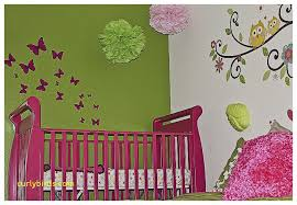 Diy Baby Room Decor Beautiful Decoration For Baby Girl Nursery Curlybirds Com