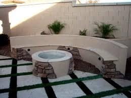 Corner Fire Pit by Fire Pits Designed By Az Living Landscape Call 480 390 4477