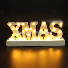 merry lighted sign decor