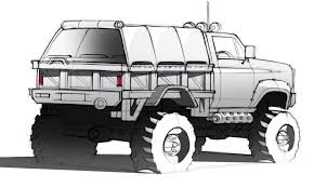 monster truck concept sketch google search sketch pinterest