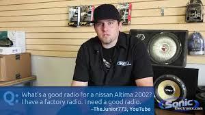 nissan altima 2005 stereo what u0027s a good radio for a 2002 nissan altima car audio q u0026 a