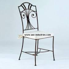 chaises fer forg chaise fer forgé duchesse coussin compris chaises en fer forgé