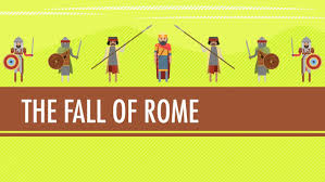fall of the roman empire in the 15th century crash course world