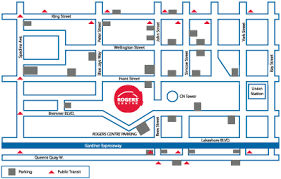 rogers center floor plan directions and parking toronto blue jays
