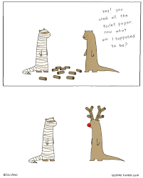 halloween by lizclimo hey you used all the toilet paper now