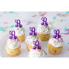 monogram cupcake toppers monogram cupcake toppers
