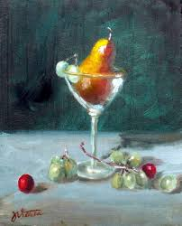 martini painting still lifes oceanside art gallery