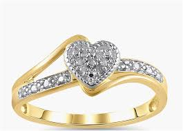 gold promise rings boy wedding rings inspirational diamond accent 10kt yellow gold