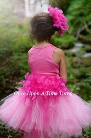 Pink Flamingo Halloween Costume Child Pink Flamingo Bustle Tutu Sizes Baby 6 12 Months
