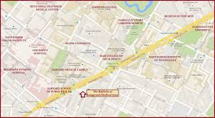 Boston Medical Center Map by Short Term Rentals Coppola Realty Management Services Inc