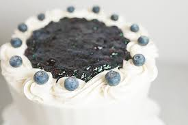 cake top blueberry almond cake cake bake shop