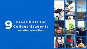 9 great gifts for college students and when to send them