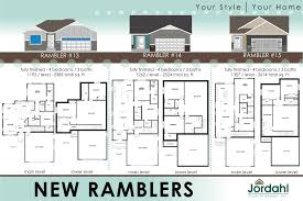 vaulted ceiling floor plans 2017 new ramblers jordahl custom homes