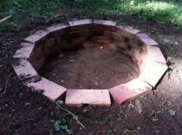 debonair backyard fire pit designs in build your own fire pit