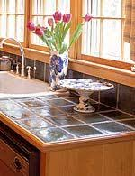 Ceramic Tile Kitchen Countertops by 11 Best Kitchen Counter Designs Images On Pinterest Tiled