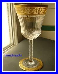 louis bicchieri bicchiere cristallo louis thistle gold
