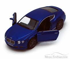 blue bentley 2012 bentley continental gt speed blue kinsmart 5369d 1 38
