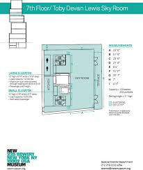 New Floor Plan Space Rental New Museum