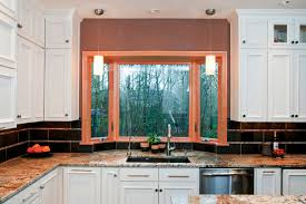 kitchen bay window houzz