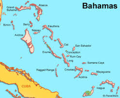 bahamas on map bahamas travel guide planetware