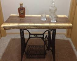 Antique Singer Sewing Machine Table Sewing Machine Etsy