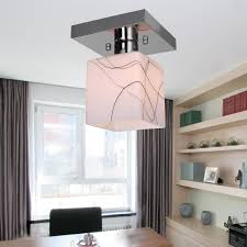 lightinthebox stainless steel ceiling light in cube shape modern