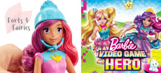 win barbie video game hero dvd forts fairies