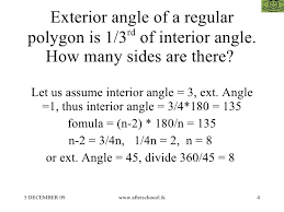 Regular Pentagon Interior Angles Questions On Polygons In Aptitude Tests