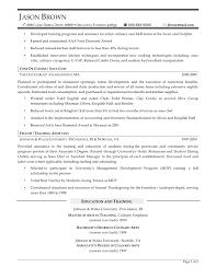 example resume for chef position eliolera com