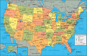 Map Of The United States With Cities Maps Of United States Find Map Usa Here