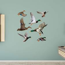 ducks wall decal shop fathead for general animal graphics decor