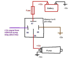 5 pin relay wiring diagram for lights 5 wiring diagrams