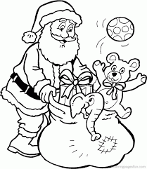 christmas coloring pages santa coloring