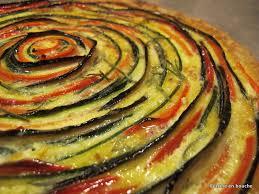 cuisine des legumes tarte aux légumes en spirale le de cuisine en bouche