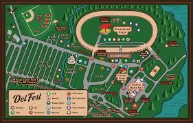 Festival Map Festival Map Delfest