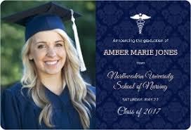 nursing graduation announcements nursing school graduation announcements