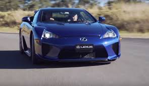 lexus lf lc blue this might be the only lapis lazuli lexus lfa in the world