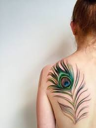 60 cool tattoos every wants peacock feather